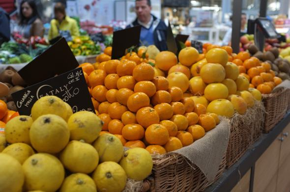 Eataly Oranges and Lemons - grown in Italy