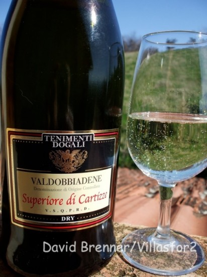 A premier Prosecco from the Cartizze vineyard