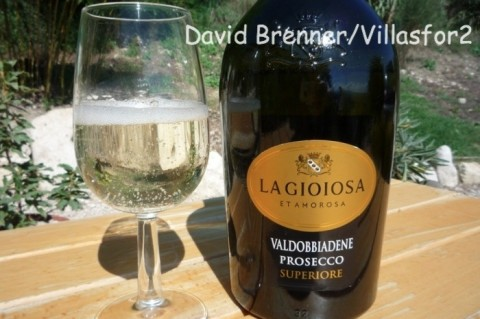 Prosecco from the key Valdobbiadene region