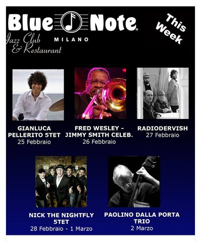 Pellerito at Milan's Blue Note