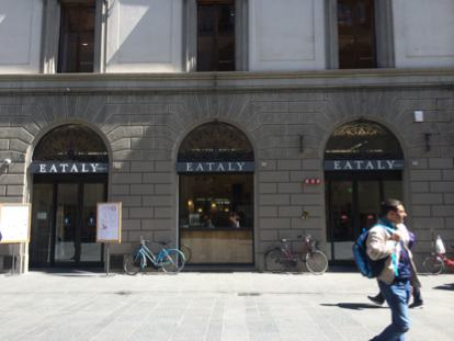 Eataly can be found in Florence