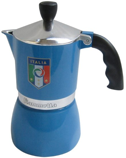 Blue Italian Coffee Maker : The Essential World Cup Souvenir for Italy Lovers - Italy Chronicles