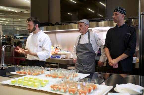 Lorenzo de Medici Cooking School Chefs