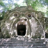 The Orc's Mouth in Bomarzo