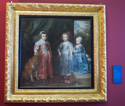 Portrait of the Children of Charles I of England