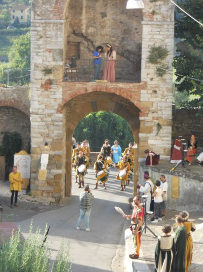 Drummers at the Gate Photo Jenny Mead