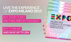 Milan expo tickets - available now online