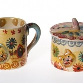 Colorful Pottery Gift Ideas from the Modigliani Pottery Studio