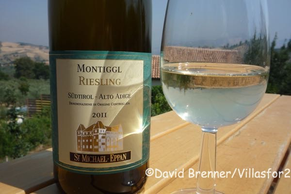 A perfect Italian riesling
