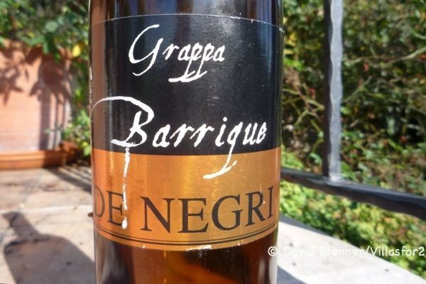 Grappa - the perfect digestivo ?