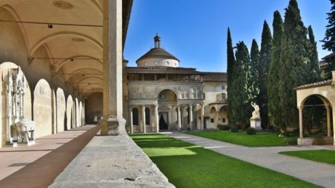 The Pazzi Chapel in Florence