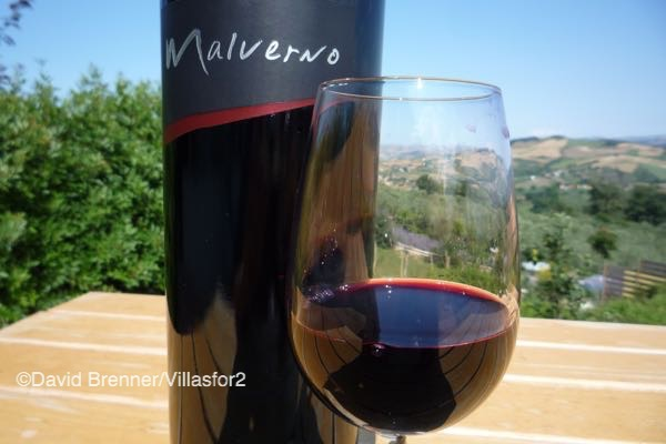A new trend in Abruzzo reds - a blend of Montepulciano and Merlot