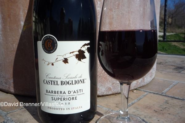 A delicious Barbera d'Asti DOCG from Piedmont