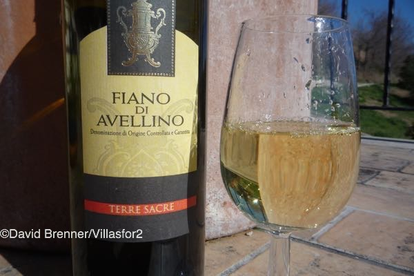Fiano di Avellino - a choice DOCG white from Campania