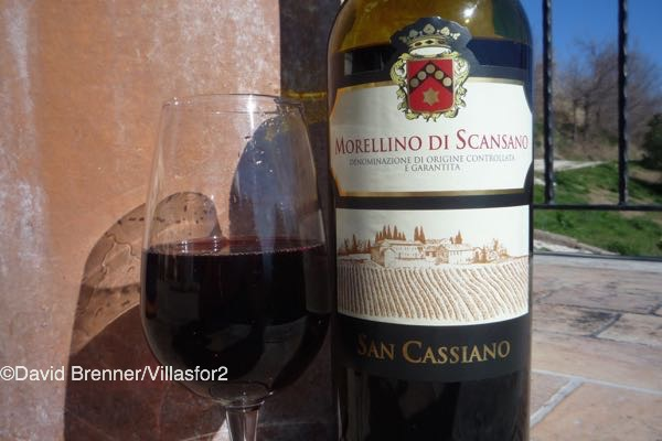 An alternative to Chianti - Morellino di Scansano DOCG from Tuscany