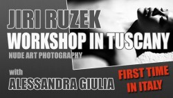 Nude Art Photo Workshop with Jiri Ruzek in Tuscany