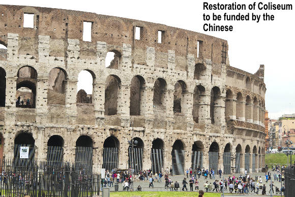 China to Fund Restoration