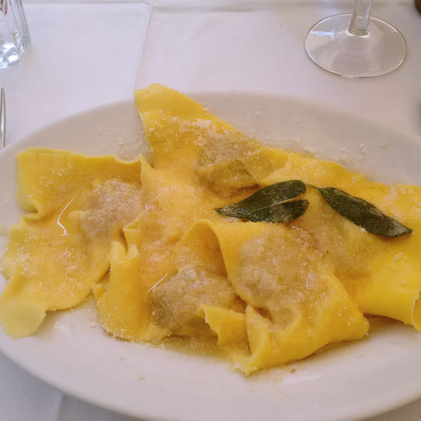 Casoncelli Ravioli for Lunch in Brescia, Italy