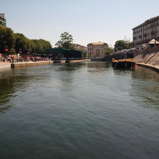 Another View of the Darsena in Milan, Italy