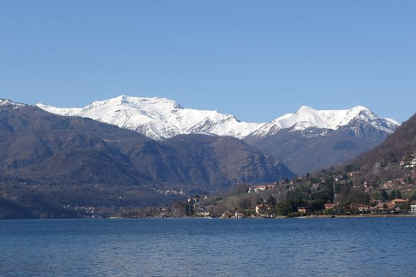 Lake Orta Italy view
