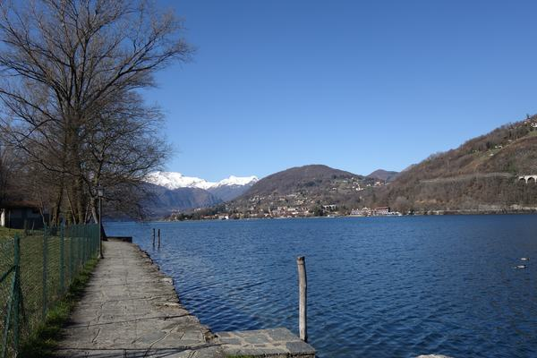 Lakeside walk Lake Orta