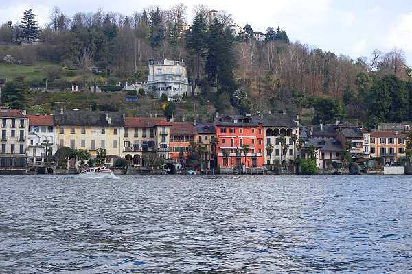Colourful Orta San Giulio on Lake Orta