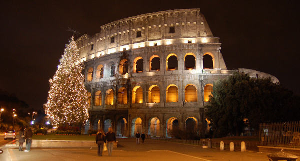 Coliseum at Christmas