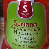 Calabrian Heat – Suriano Habanero Orange Chili Sauce