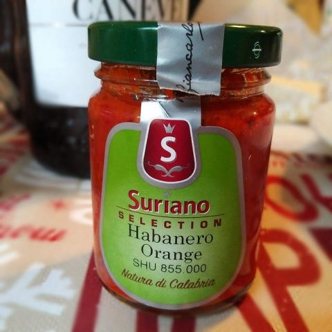 Suriano Habanero Orange chili sauce